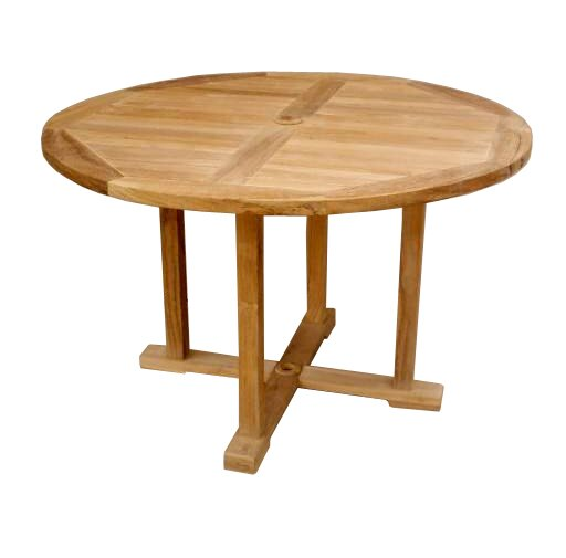 Yarger Wooden Dining Table by Rosecliff Heights