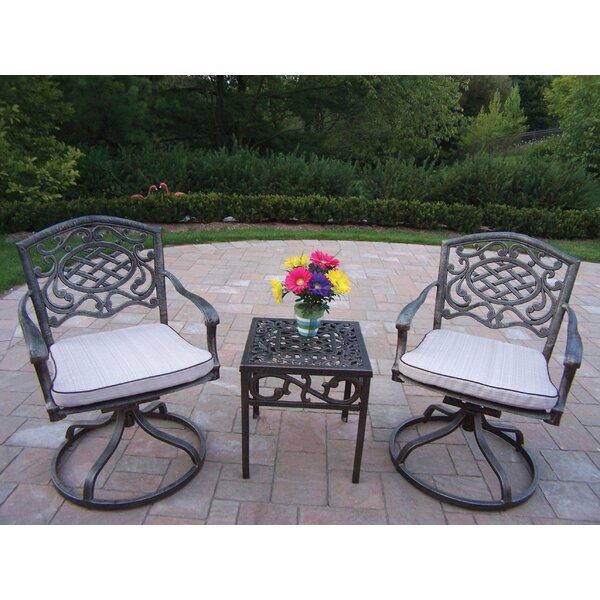 Mcgrady 3 Piece Conversation Set with Cushions by Astoria Grand