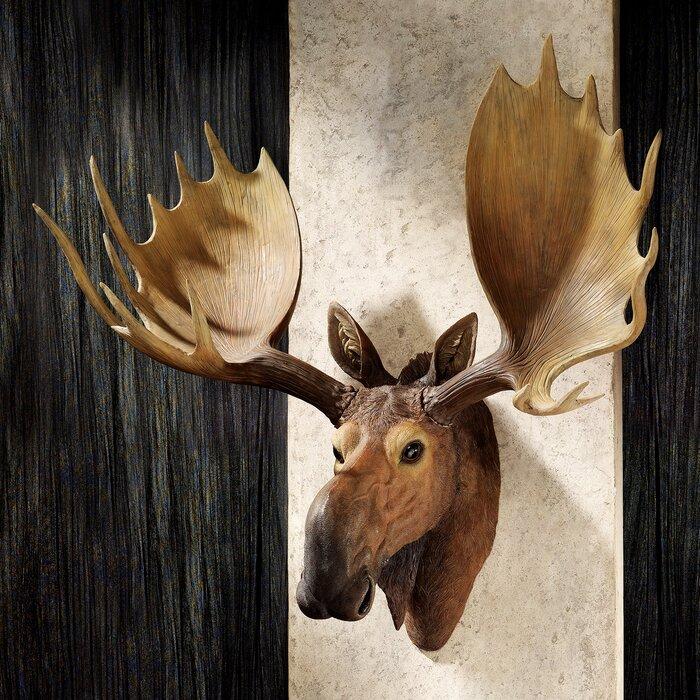 Moose Antler Plaque Designs