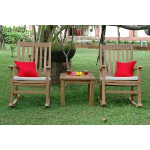 Palm Beach 3 Piece Teak Conversation Set