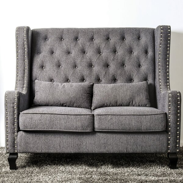 Modern Sara Loveseat by Charlton Home by Charlton Home