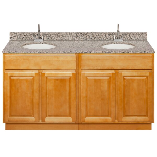 Liskeard 60 Double Bathroom Vanity Set by Charlton Home