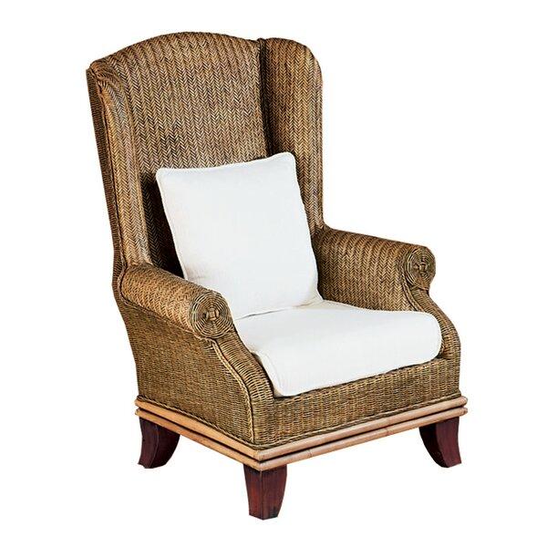 Bali Wingback Chair by Padmas Plantation