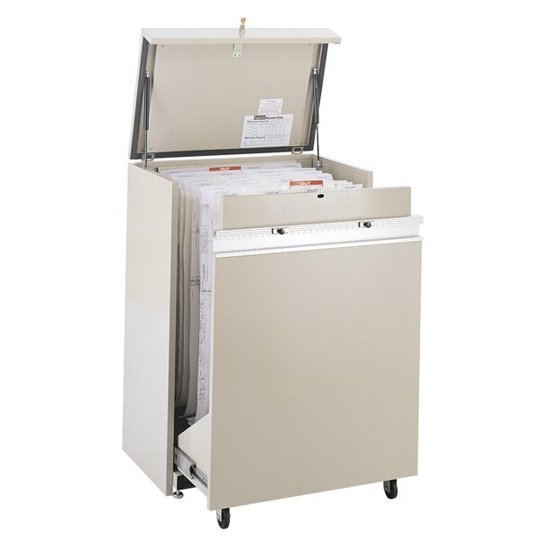 MasterFile 2 Small Hanging Filing Cart by Safco Products Company