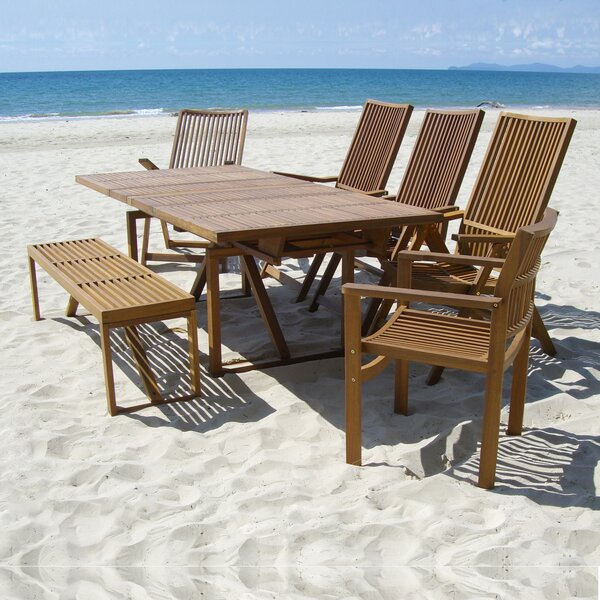 Baskin Solid Wood  Dining Table by Brayden Studio