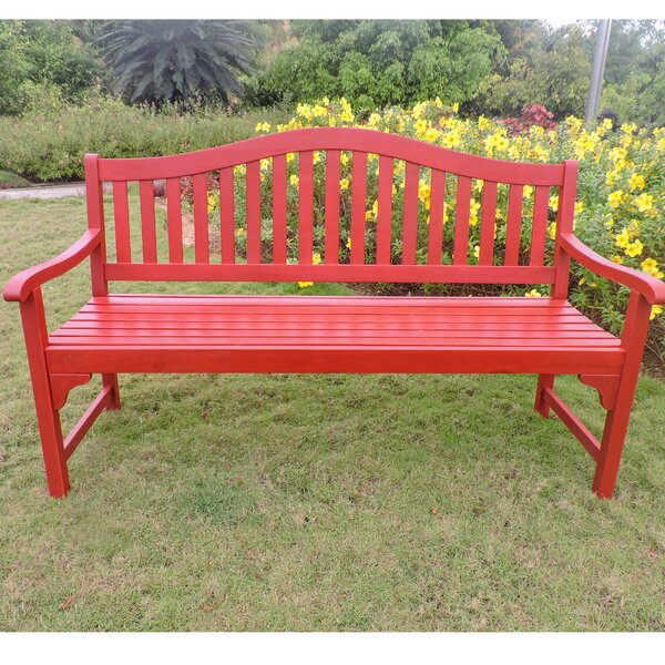 Enright Wooden Garden Bench by Breakwater Bay Breakwater Bay