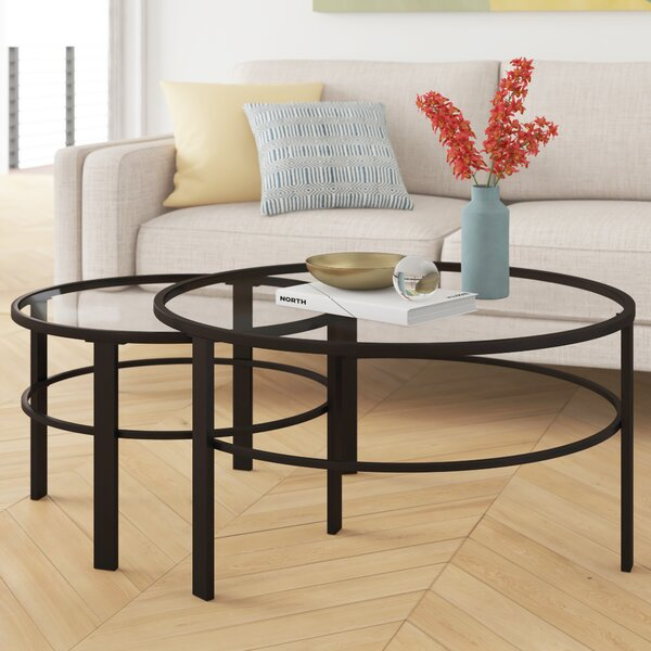 Foundstone Glass Top Coffee Tables