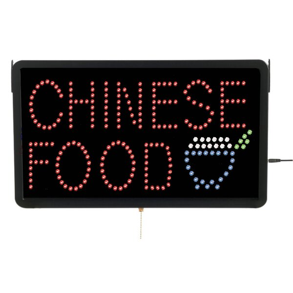 High Visibility LED Chinese Food Sign by AARCO