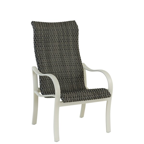Shoreline High Back Patio Dining Chair by Tropitone
