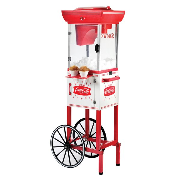 Coca-Cola Series Snow Cone Cart by Nostalgia