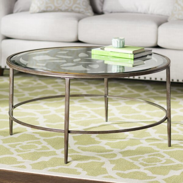 Geoffrey Coffee Table by Three Posts