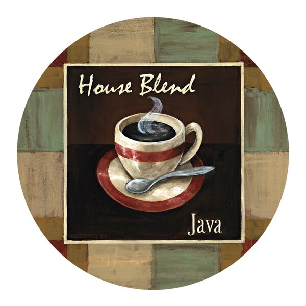 House Blend Java Coaster (Set of 4) by Thirstystone