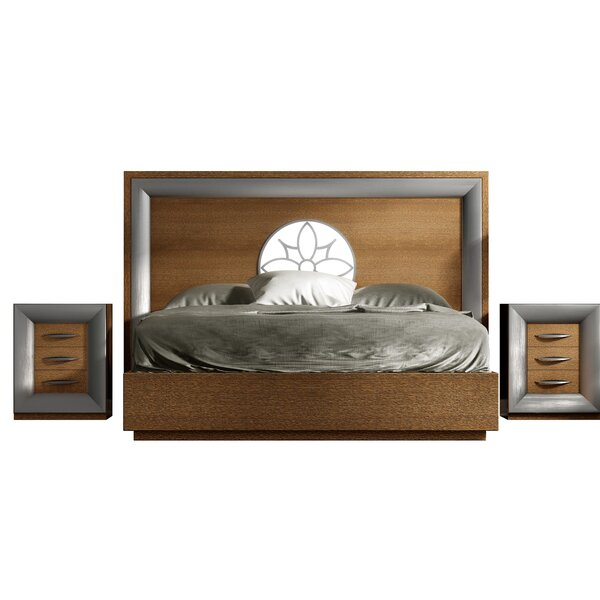 Rone Standard 3 Piece Bedroom Set by Brayden Studio
