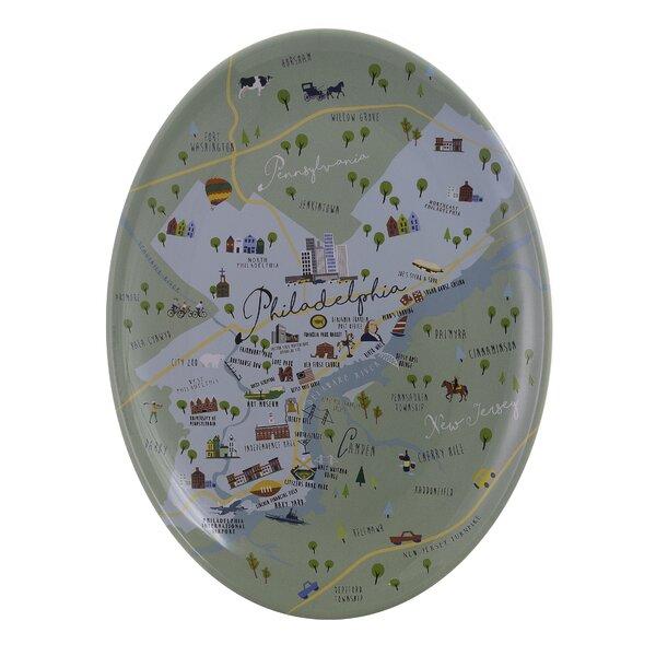 Inez Melamine Platter by Winston Porter