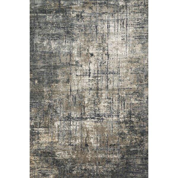 Aiken Marine/Grey Area Rug by Williston Forge