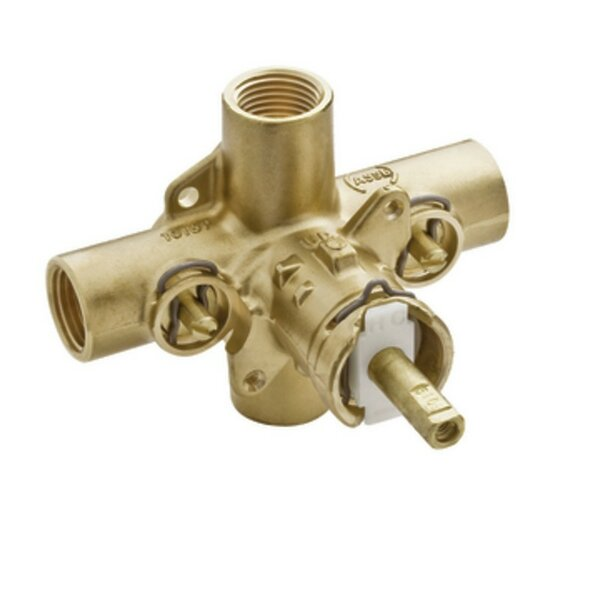 M-Pact Posi-Temp IPS Connection Pressure Balancing Valve with Satefy Stops by Moen