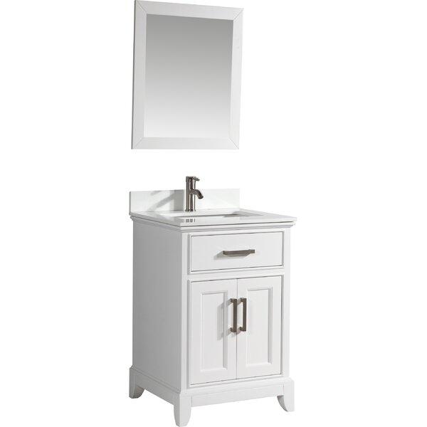 Vanity Art Single Bathroom Vanity Set With Mirror Reviews - Bathroom vanities bonita springs fl