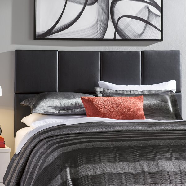 Zanna Upholstered Panel Headboard by Wade Logan