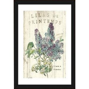 'Lilas de Printemps' by Sue Schlabach Graphic Art Print by East Urban Home