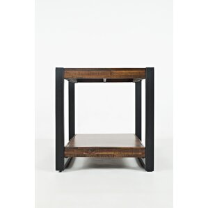 Ailey Square End Table by Gracie Oaks