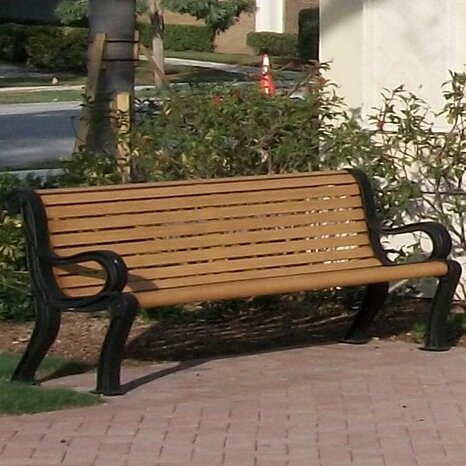 Butler Park Bench by Wabash Valley