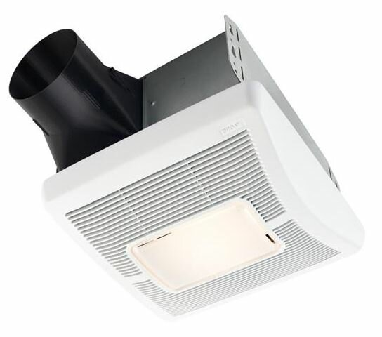 InVent Single-Speed 50 CFM Bathroom Fan with Light by Broan