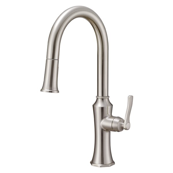 Draper Pull-Down Single Handle Kitchen Faucet with Gerber® Treysta Valve Technology by Danze®