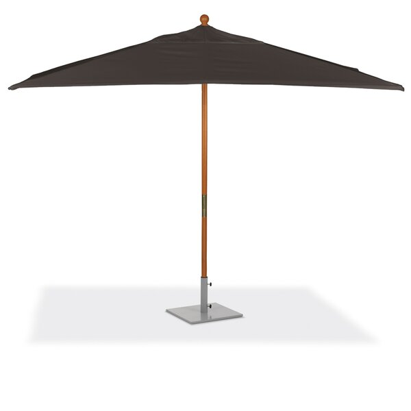 Standwood 6' x 10' Rectangular Market Sunbrella Umbrella by Latitude Run