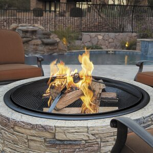 cast stone wood fire pit