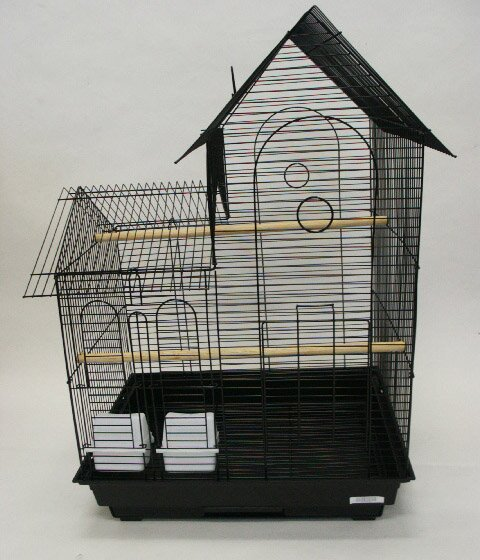Villa Top Small  Bird Cage with 2 Feeder Doors by YML