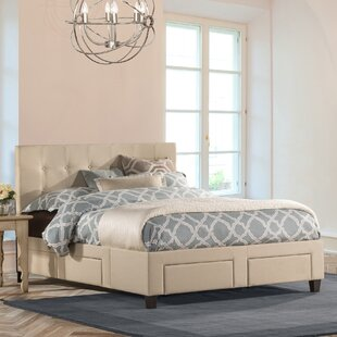 Milla Upholstered Storage Platform Bed by DarHome Co