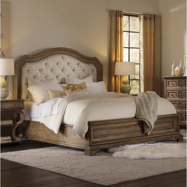 Solana Upholstered Panel Bed by Hooker Furniture
