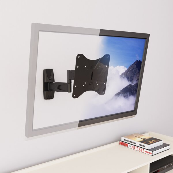 Articulating/Tilt/Swivel Wall Mount for 17 - 37 Flat Panel Screens by dCOR design