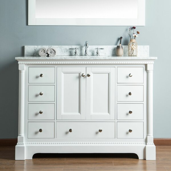 Rayleigh 48 Single Bathroom Vanity Set by Charlton Home