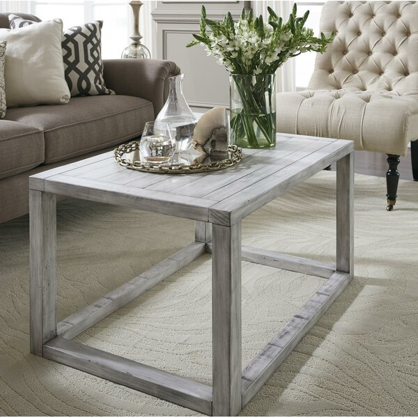 Oslo Pine Wood Coffee Table by Williston Forge Williston Forge