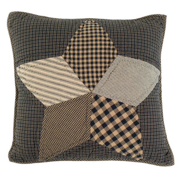 Madeline Quilted Cotton Throw Pillow by August Grove
