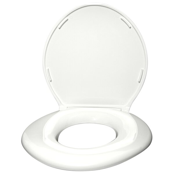 Standard Closed Front Raised Toilet Seat with Cover by Big John