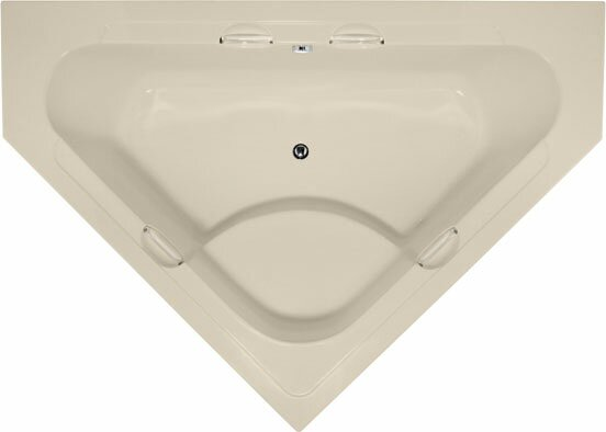Designer Whitney 62 x 62 Soaking Bathtub by Hydro Systems