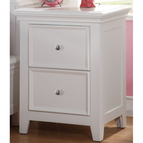Congdon 2 Drawer Nightstand by Harriet Bee
