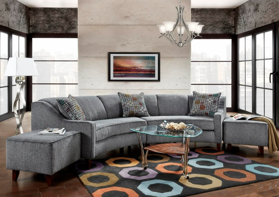 Awesome Cashman Modular Sectional
