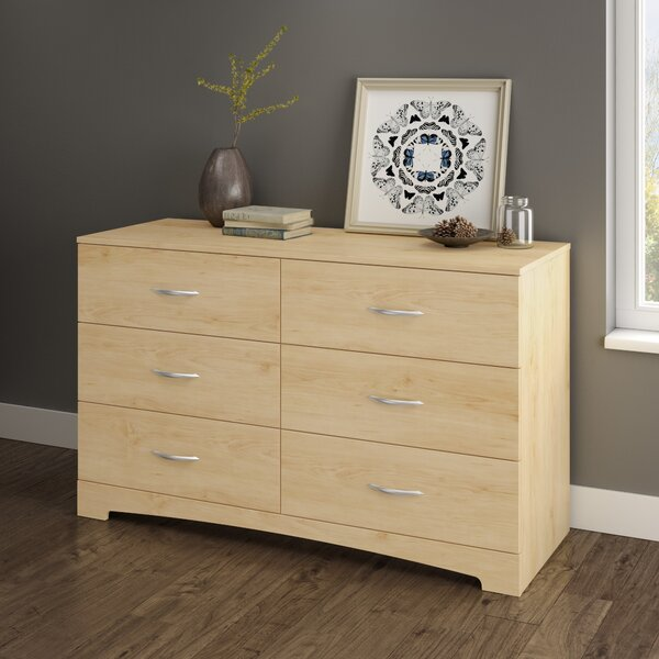 Step One 6 Drawer Double Dresser by South Shore