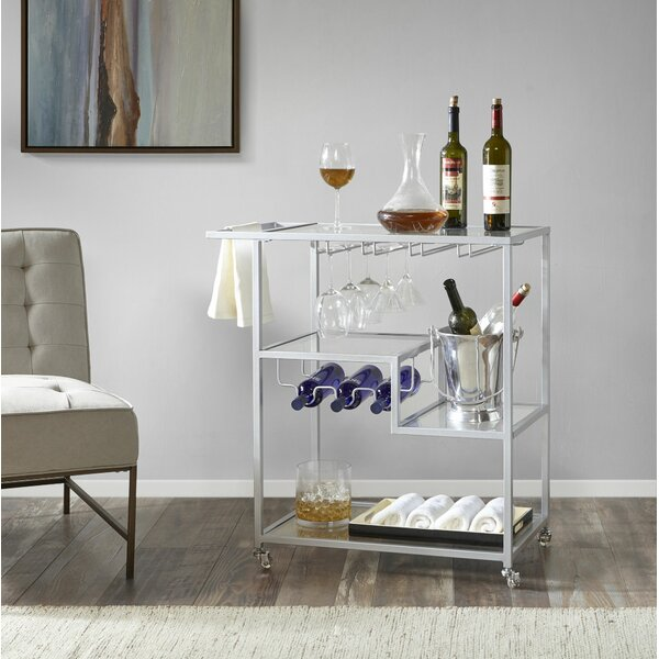 Nugent Bar Cart by Alcott Hill