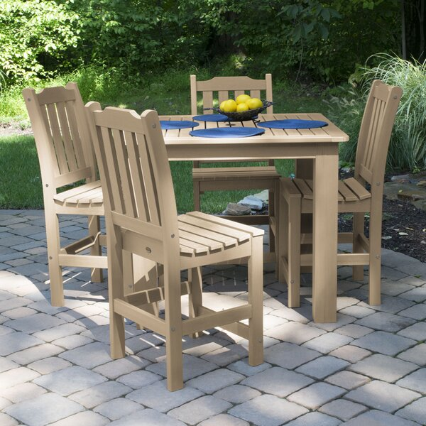 Regan 5 Piece Dining Set by Alcott Hill