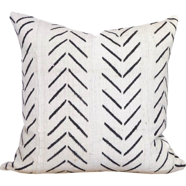 One Fine Nest Test Arrow Chevron Print Cotton Pillow Cover Reviews Wayfair