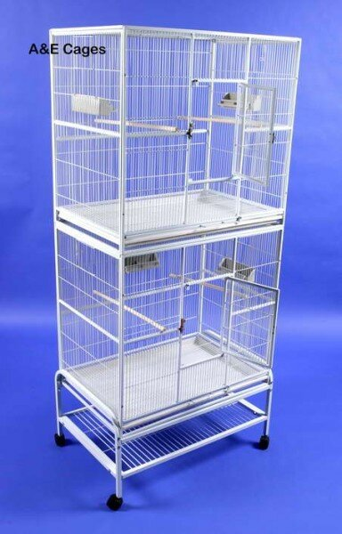 Mazzeo Double Flight Bird Cage by Tucker Murphy Pet
