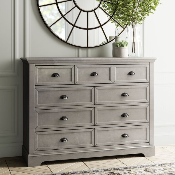 Appleby 9 Drawer Double Dresser by Greyleigh