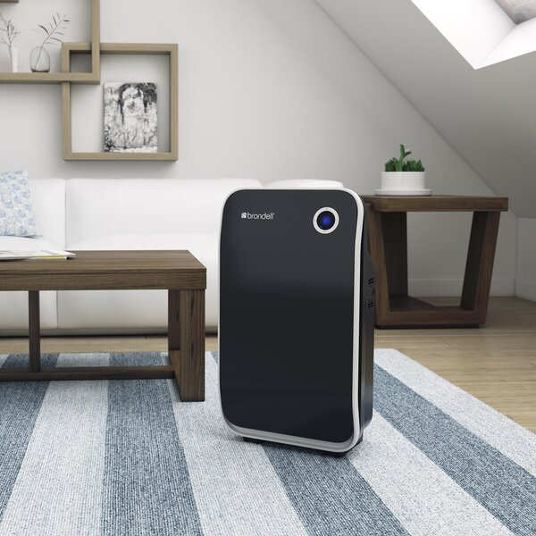 O2+ Halo True Air Purifier with HEPA Filter by Brondell