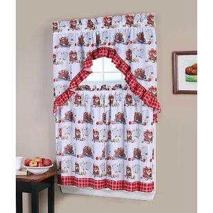 Kitchen Curtains With Fruit | Wayfair
