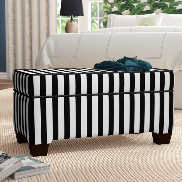 Adamsville Fabric Storage Bench by Breakwater Bay