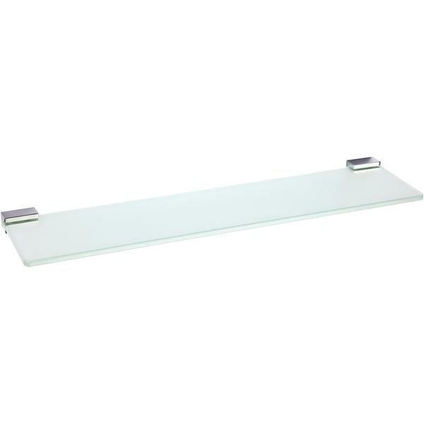 Cowden Wall Mounted Glass Shelf by Ebern Designs